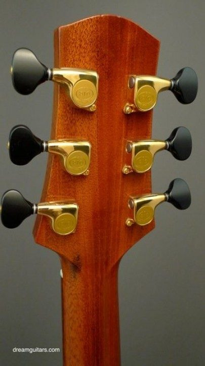 Gold Gotoh 510s with Ebony Buttons Gold With Ebony Buttons