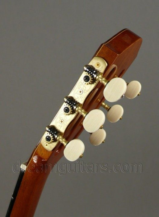 Gotoh, Brass with Ivoroid Buttons
