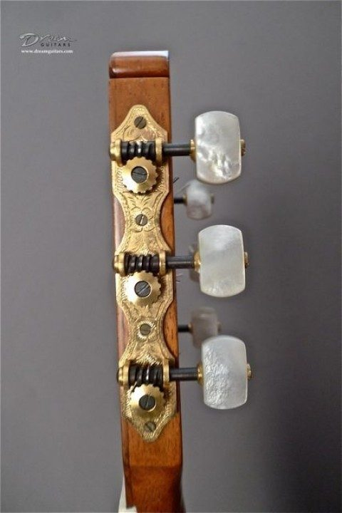 Sloane, original hand made by Sloane before mass production Gold with Pearloid Buttons