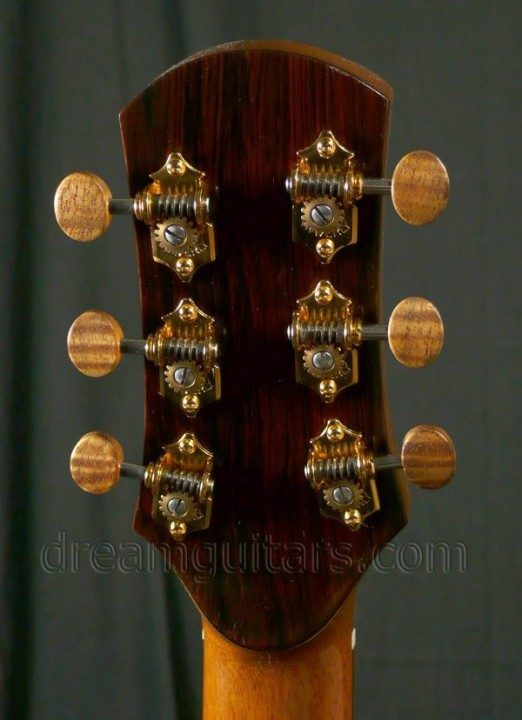 Waverly, with Koa Buttons Gold