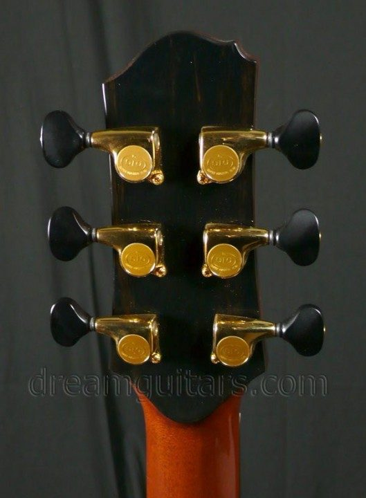 Gotoh 510 with Ebony-like tuners  Tuners