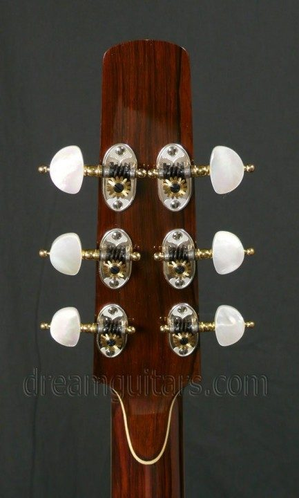 Rodgers with Pearl Buttons Sterling Silver Tuners