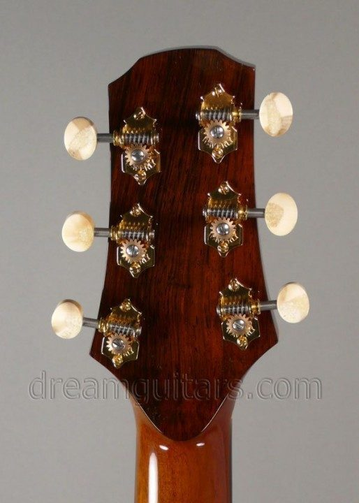 Waverly with Fossilized Ivory Buttons Gold Tuners