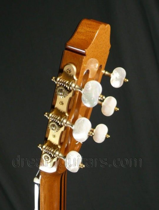 Antique Gold Gotoh Tuners With Pearl Style Buttons
