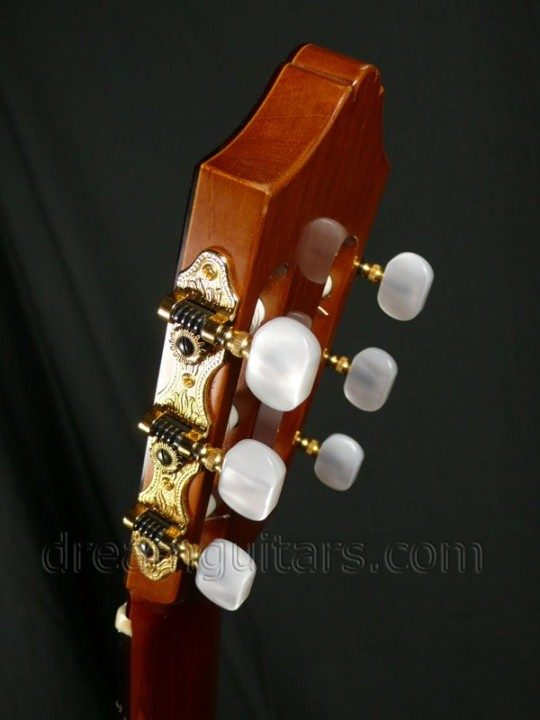 Schaller Gold Etched with Pearloid Buttons