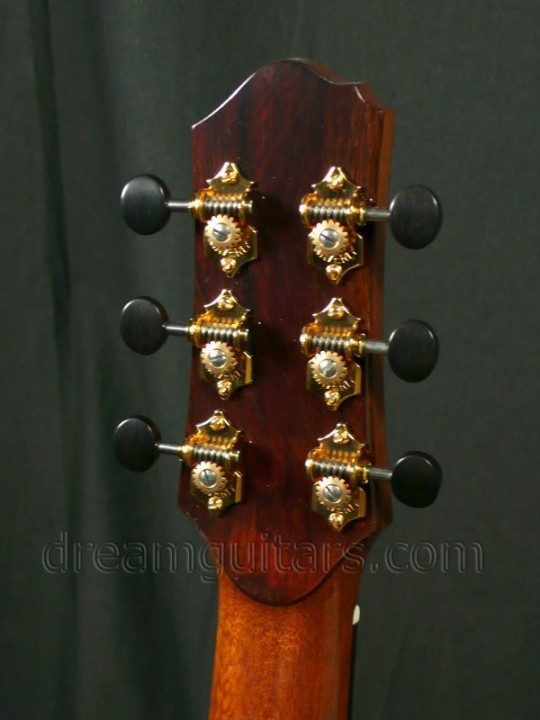 Gold Waverly With Ebony Buttons
