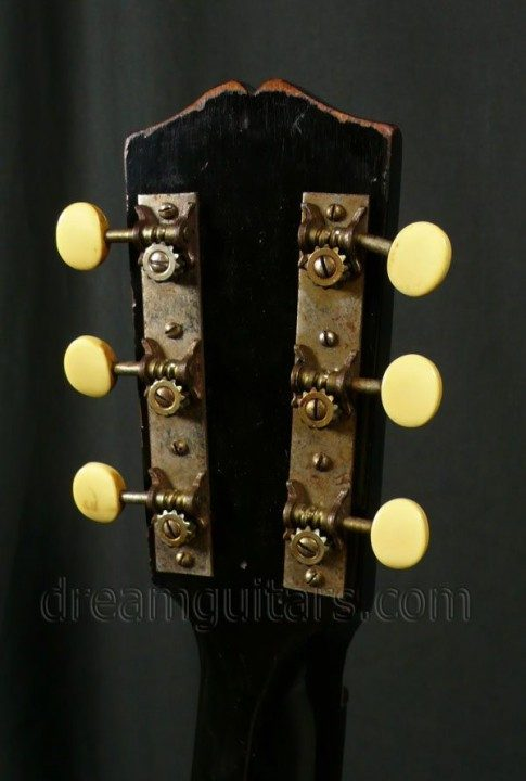 Open back nickel tuners with Ivoroid Buttons