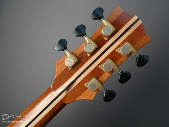 Gotoh Delta 510s Gold With Ebony Buttons Tuners