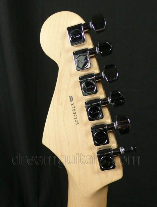Fender/Schaller Deluxe Staggered Cast/Sealed Tuning Machines