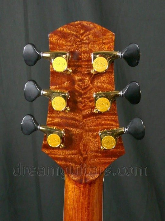 Gotoh 510s with Ebony Buttons Gold Tuners