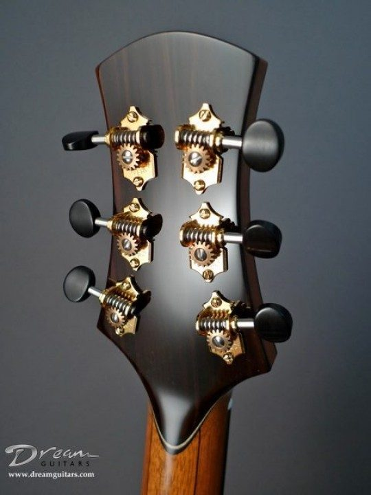 Sperzel Locking Gold With Ebony Buttons Tuners