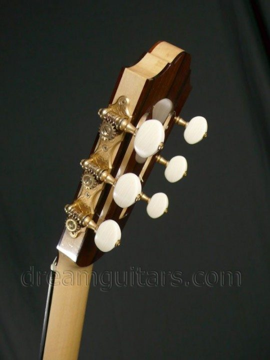 Hauser Style Tuners with Ivory buttons Brushed Gold