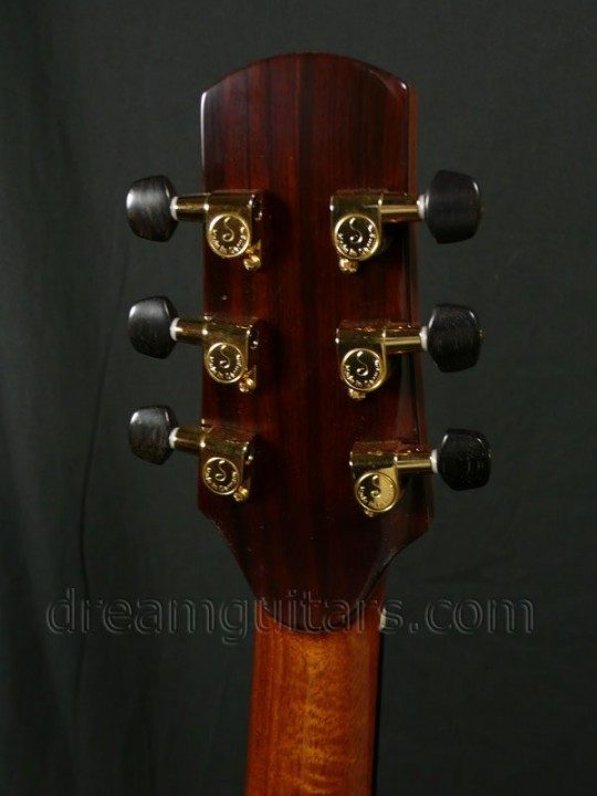 Gold Mini-Schallers with Ebony Buttons
