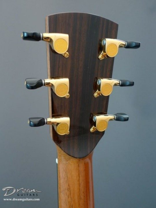 Gotoh 510s Gold With Ebony Buttons