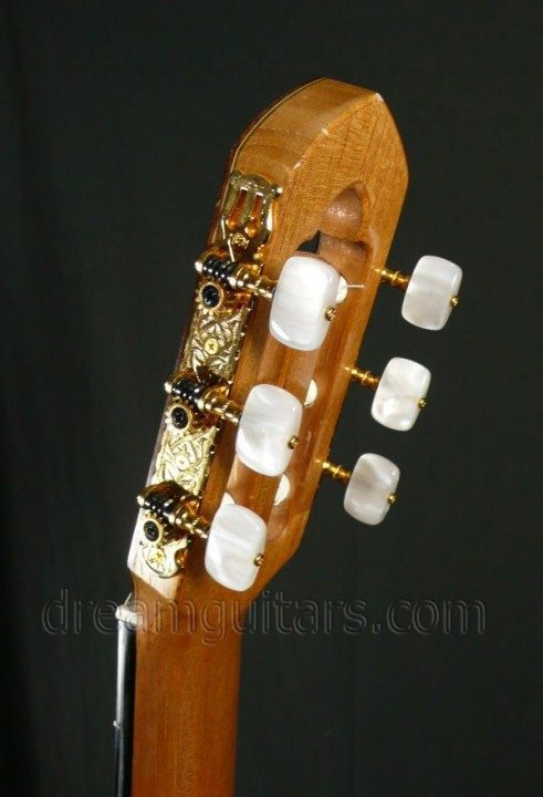 Gotoh gold etched with pearloid buttons
