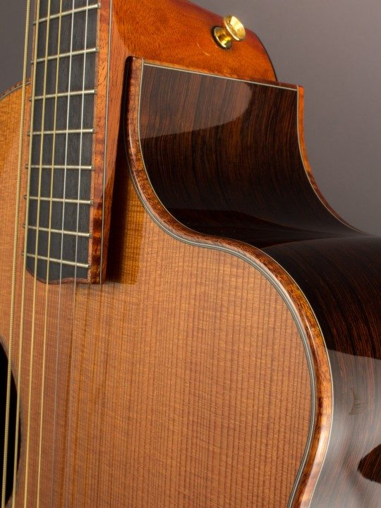2007 McPherson MG-4.5, Brazilian Rosewood/Redwood