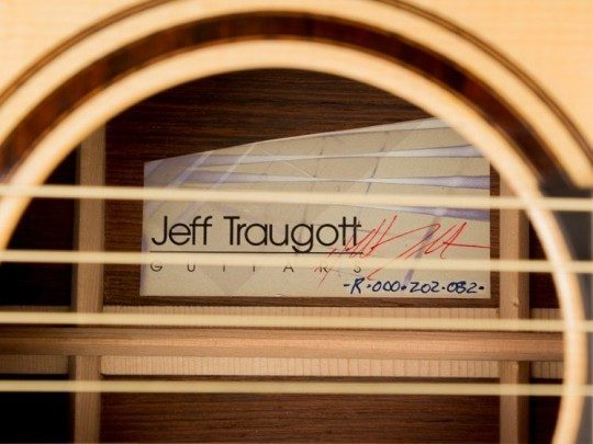 2012 Traugott R, Brazilian Rosewood/German`