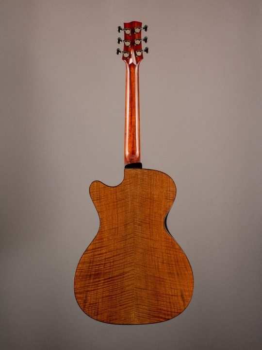 2013 Mountain Song Odalisque Claro Walnut/Carpathian