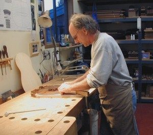 Dake in the shop.