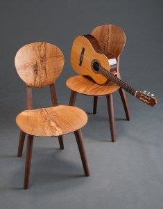 The Bogg's Guitar Chair