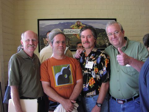 James Olson, Larry Robinson, Kevin Ryan, and Michael Keller